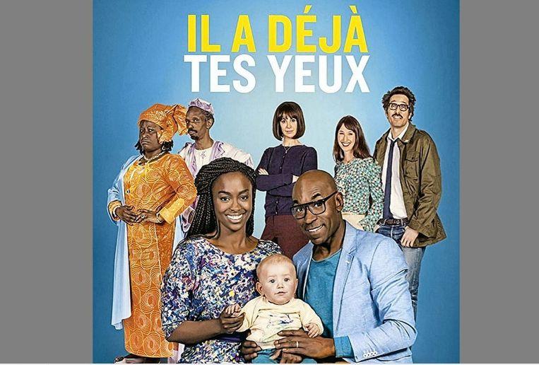 De affiche van de film 'Il a déjà tes yeux'  (Foto Productiehuis film)