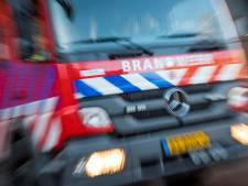 Brandweer rukt uit voor afvalbrandje in Lieren