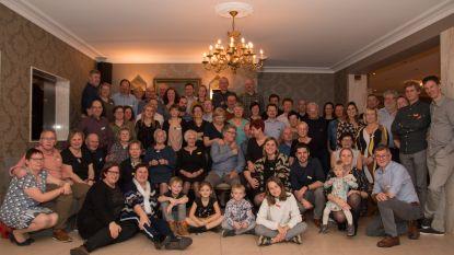 Foto uit 1975 inspireert familie Meersschaert tijdens familiefeest
