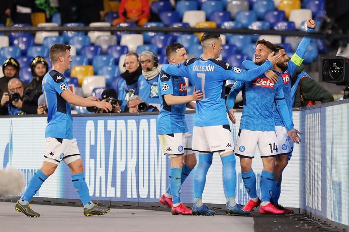 Napoli viert de 1-0.