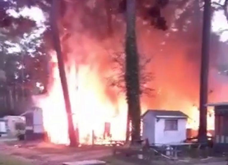 De brand moet bijzonder hevig geweest zijn.