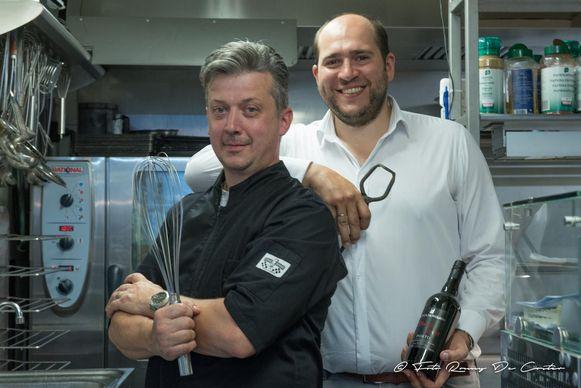 Archiefbeeld - Fabian Bail en Paul-Henri Cuvelier in hun restaurant Paul de Pierre.