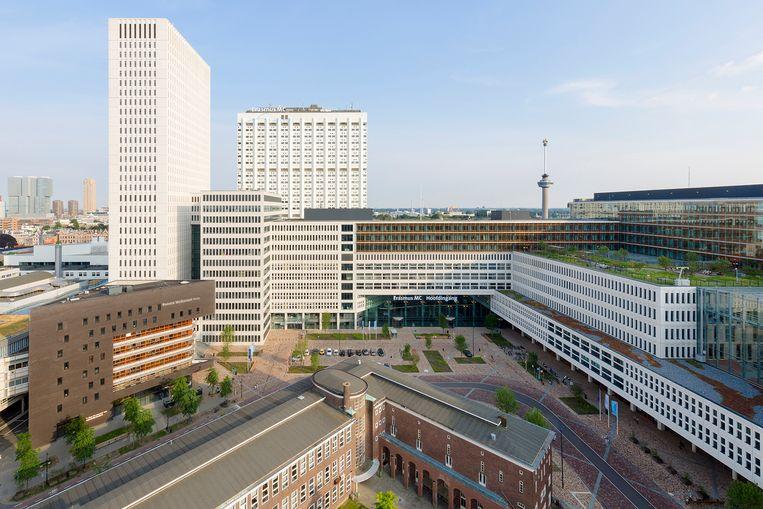Erasmus Medisch Centrum, Rotterdam. Beeld Rob van Esch