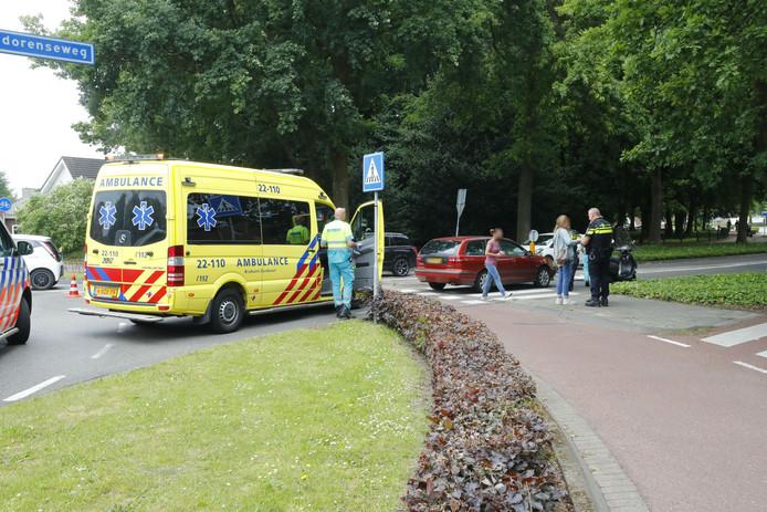 Ongeluk op Hagendorenseweg in Veldhoven
