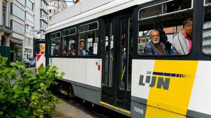 Nieuwe sporen voor Noorderlijn aan kruispunt Gemeentestraat-Anneessensstraat: tram 11 rijdt niet, 24 beperkt