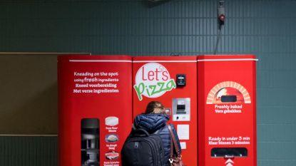 Pizza-automaat is al defect