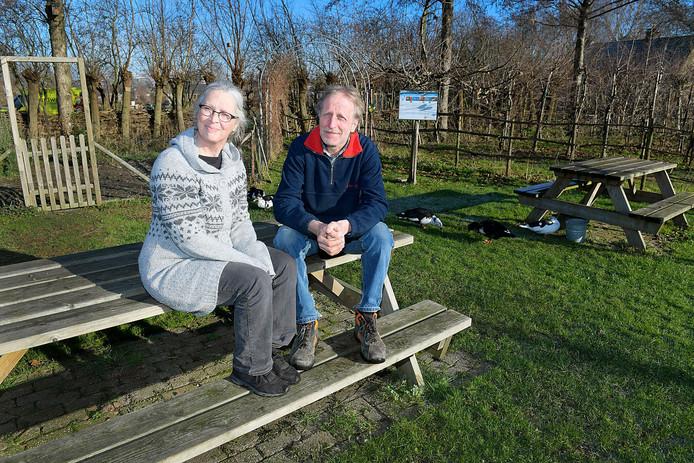 Eigenaren Jan en Ester Korteland bezitten ook de op de landgoed geleden kelders.