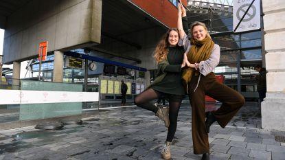 Cloé (23) en Olivia (23) willen 'Yoga Station' lanceren in Leuven