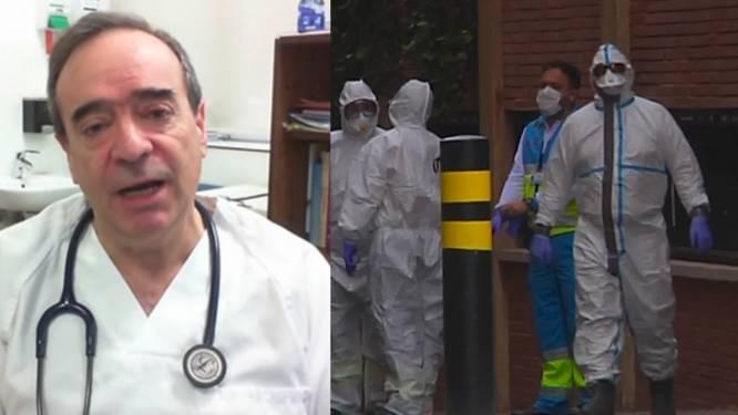 """Spaanse hulpverleners slaken noodkreet: """"Wij worden allemaal ziek"""""""