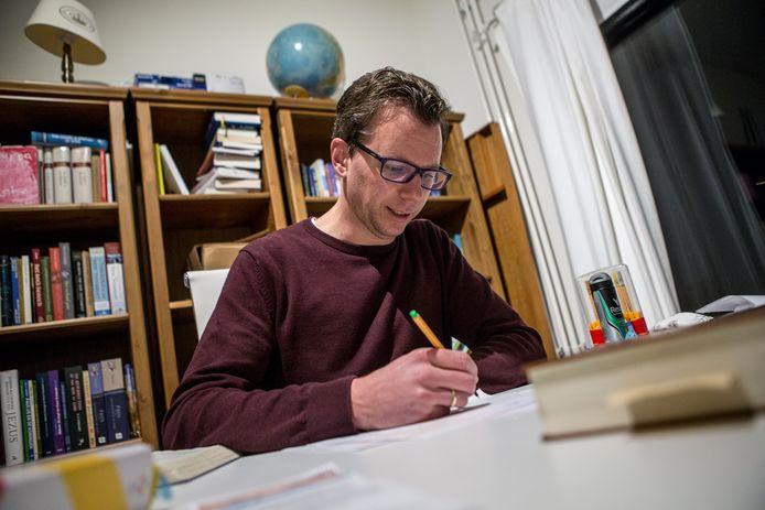 Wim de Bruin, dominee in Zutphen.