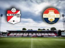LIVE | Willem II zonder Heerkens in 'topduel' bij FC Emmen