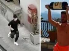 Bouteille de vin et footing: Dries Mertens ne se laisse pas abattre par le lockdown