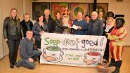 Soepverkoop en solidariteitsactie leveren 1.150 euro op voor kinderen in armoede