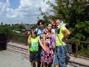 De familie Andropov in Kiev, Oekraïne