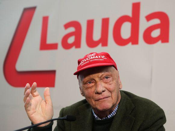 Niki Lauda in maart vorig jaar.