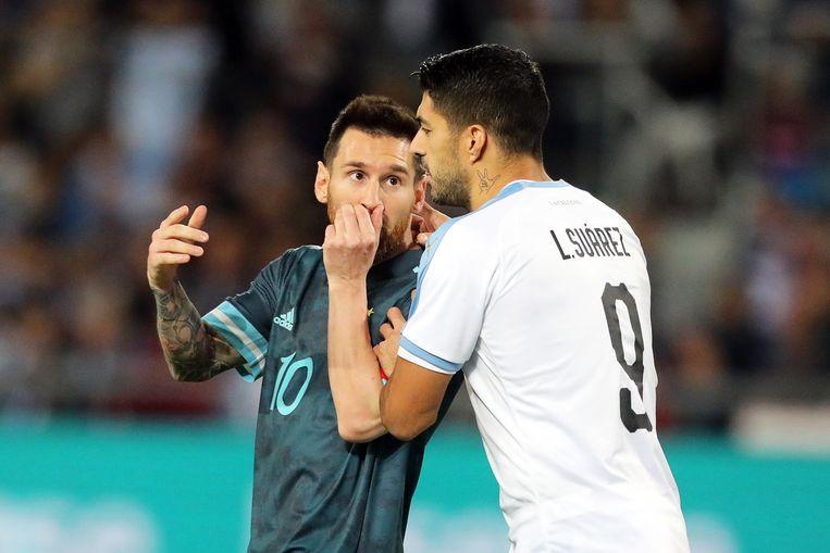 Messi en Suarez.