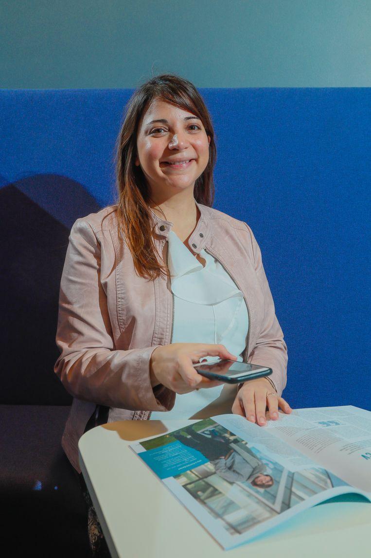 """CEO Susana Zoghbi, een Venezolaanse die in ons land doctoreerde als computerwetenschapster, richtte samen met haar man Macty op. """"Zoals Shazam liedjes herkent, vindt ons systeem wat de klant zoekt aan de hand van foto's."""""""