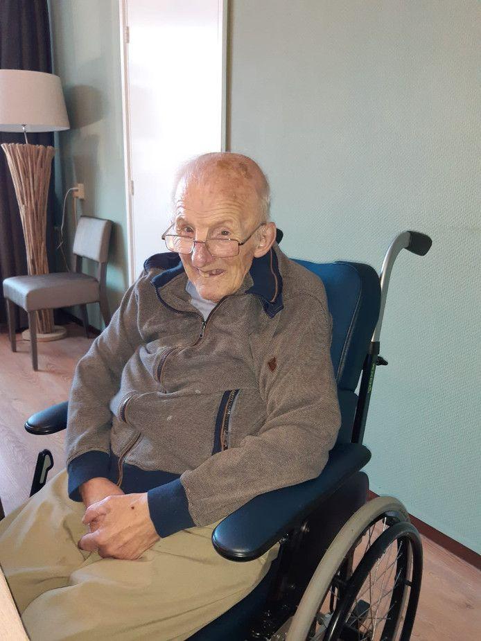 Henk NIjland, bewoner van Aveleijn.