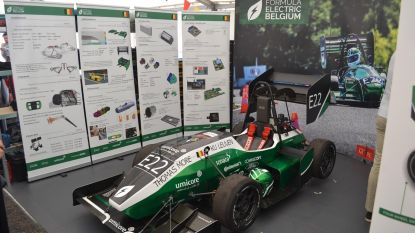 Studenten winnen ontwerpwedstrijd voor elektrische racewagens