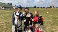 """Vrouwelijke skydivers breken Belgische records: """"Dit weekend stellen we die records nog scherper"""""""