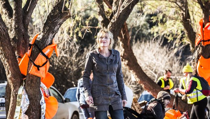 Pam besloot een weekje vrijwilligerswerk next level te doen op Lesbos