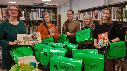 Leerkrachten kunnen weldra Taaltassen voor lessen Nederlands ontlenen in vier bibliotheken