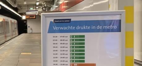 Nooit meer in een overvolle metro dankzij deze druktemeter van de RET