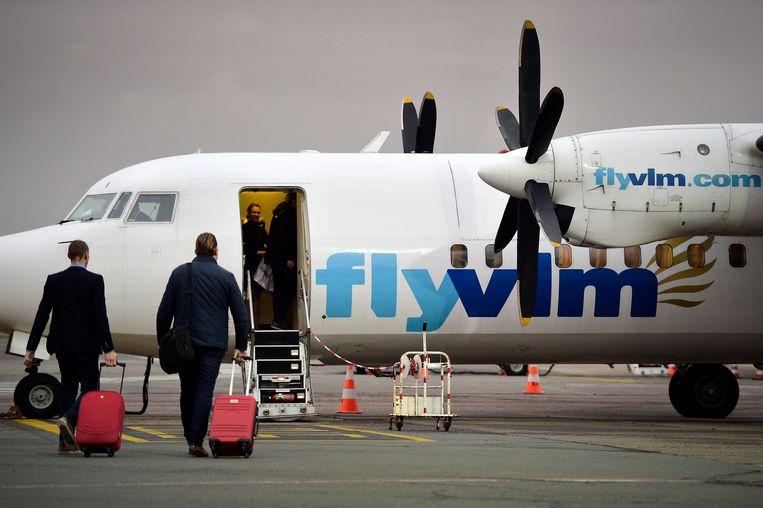 Het faillissement van VLM blijft wegen op de cijfers  van de Antwerpse luchthaven. Vanaf april zou dalende de trend omkeren.