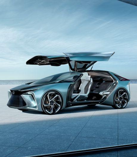 Lexus onthult spraakmakende 'elektrische auto van het jaar 2030'