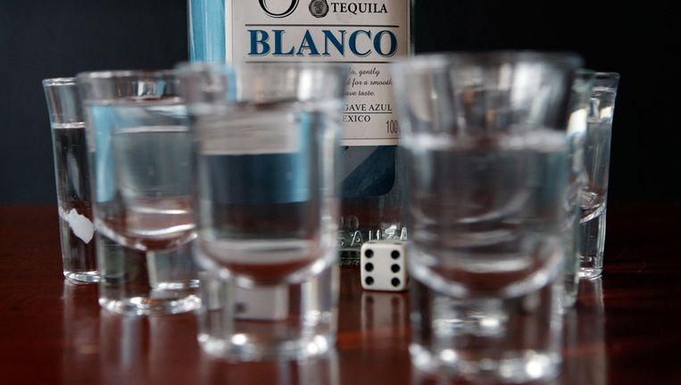 Shotglaasjes met Tequila. © ANP Beeld