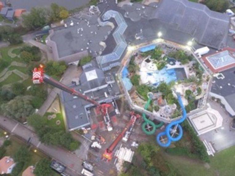 Sunparks De Haan vernieuwt momenteel hun subtropisch zwembad