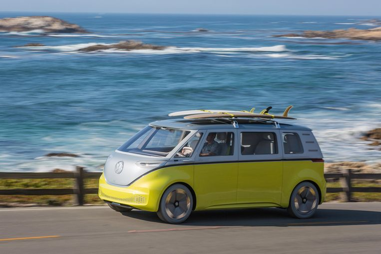 Concept van nieuwe elektrische Volkswagen die begin dit jaar werd gepresenteerd. Beeld Reuters