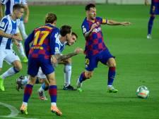 Barça met moeite langs degradant Espanyol