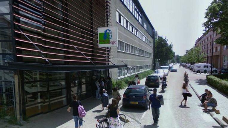 Het Huygens College in West. Beeld Google Streetview