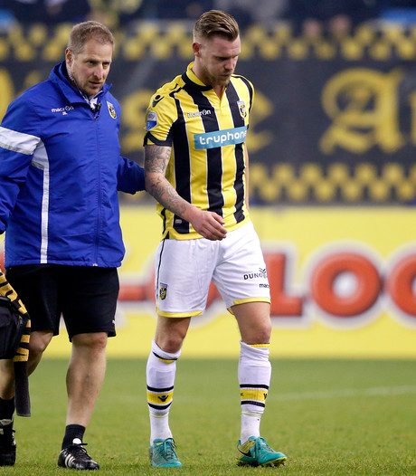 Van der Werff enige geblesseerde in topfitte Vitesse-selectie