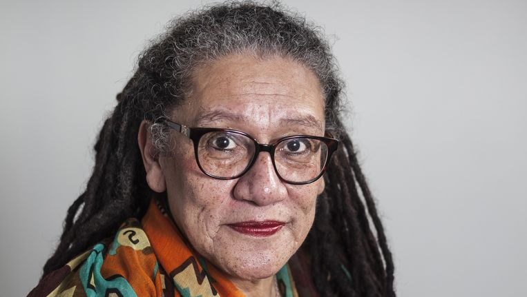 Gloria Wekker: 'Ik voel me geen roepende in de woestijn meer.' Beeld Martijn Gijsbertsen