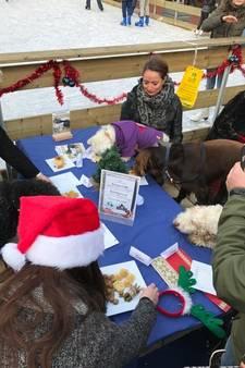 Kerstdiner voor honden: Uma heeft liever een doggybag