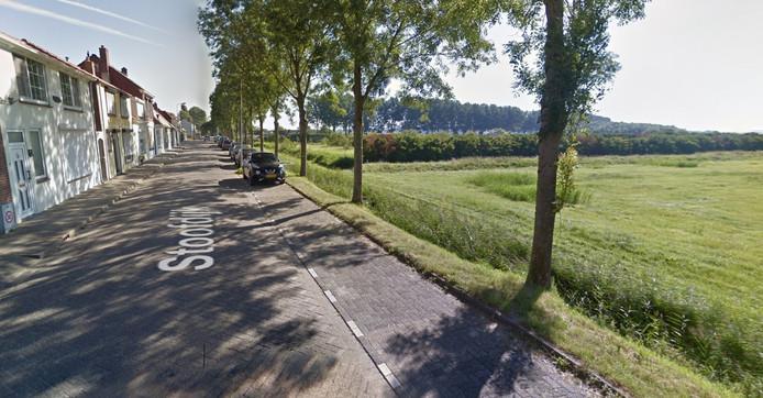 De 'schone sloot' langs de Stoofdijk in Stavenisse.