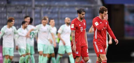 Werder pakt punt bij Bayern, Bosz wint nipt met Leverkusen, Weghorst scoort voor Wolfsburg