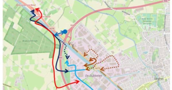 Actie tegen weg door Wijboschbroek, 'een hobby van asfaltcowboys' - BD.nl