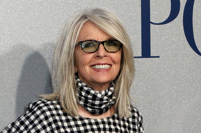Diane Keaton op de première van 'Poms'