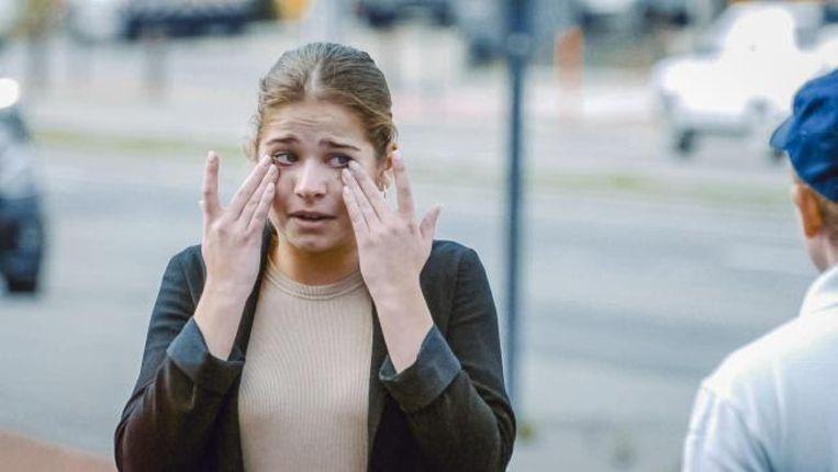 Laura Tesoro in 'Hoe Zal Ik Het Zeggen?'.