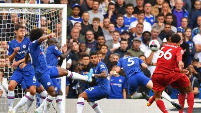 LIVE. Liverpool loopt al snel uit in Chelsea dankzij geweldige goal Alexander-Arnold en ook Firmino