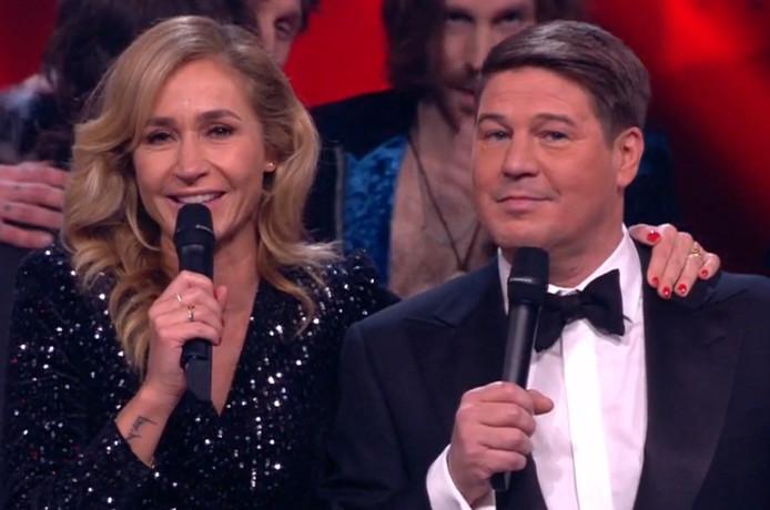 Wendy en Martijn tijdens hun laatste reguliere Voice samen