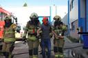 Tijdens de NK-finale werd door de brandweerteams ook het opsporen en redden van vermiste personen nagebootst.