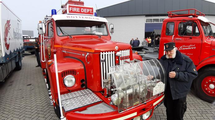 Peet Jansen had hier  eigenlijk een camper van willen maken, maar dat vonden brandweerlieden niet zo'n tof idee.