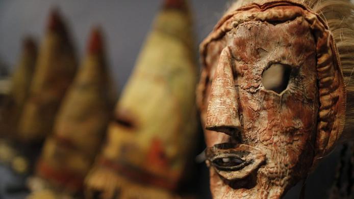 Hopi-masker.