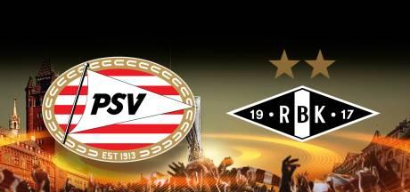 Vier wijzigingen in basisopstelling van al uitgeschakeld PSV tegen Rosenborg
