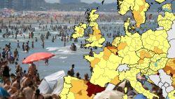 Belgen die naar Verenigd Koninkrijk reizen moeten vanaf zaterdag in quarantaine na aankomst - Vlaanderen kleurt donkeroranje op Europese kaart met besmettingen