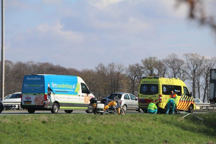 Ambulances in de regio Barneveld komen niet altijd binnen de aanrijtijd.